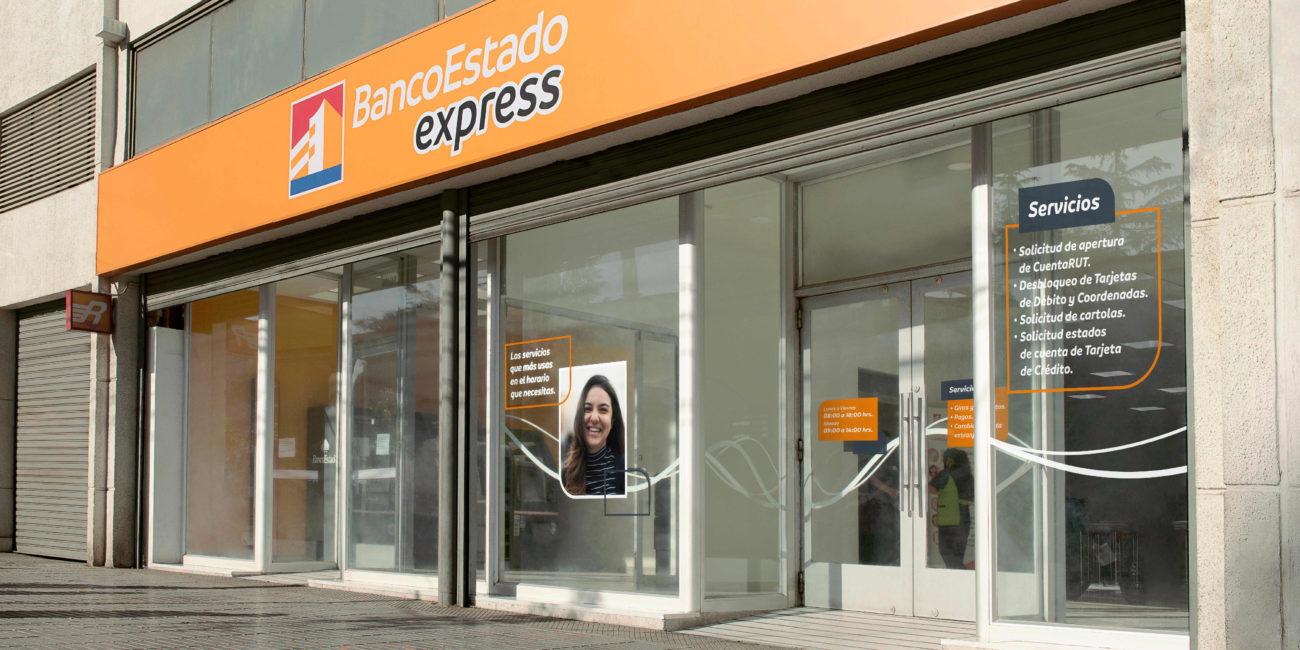 BancoEstado Express - Fachada